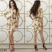 Платье-рубашка прямое софт 42-44 44-46, фото 2