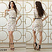 Платье-рубашка прямое софт 42-44 44-46, фото 4