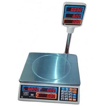 Ваги торгові електронні ВТЕ-Центровес-15Т2-ДВ-(СВ)(15 кг), фото 2
