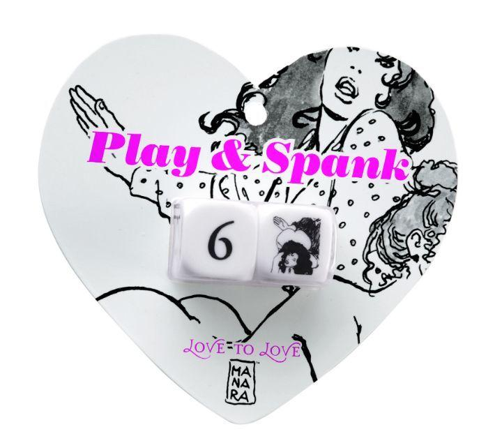 Гральні кубики Love To Love PLAY & SPANK