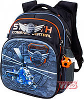 Рюкзак для мальчиков школьный Winner-stile 29*17.5*38.5 (чёрный)