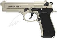 Пистолет стартовый Retay Mod.92. Цвет - satin., фото 1