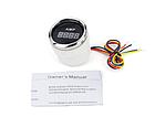 Цифровий амперметр I GAUGE 52MM з функцією попередження (чорний) LED дисплей, фото 2