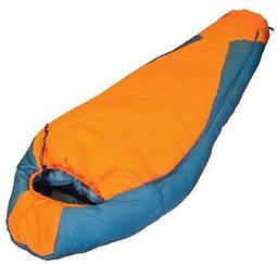 Спальний мішок Tramp Oymyakon оранжевий/сірий L