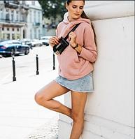 Женская стильная толстовка с капюшоном Норма, фото 1