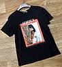 Современная женская футболка с рисунком 42р (в расцветках), фото 2