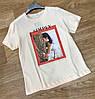 Современная женская футболка с рисунком 42р (в расцветках), фото 3
