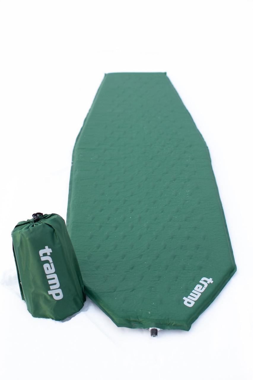 Ковер самонадувающийся Tramp Ultralight зеленый 183х51х3 TRI-023
