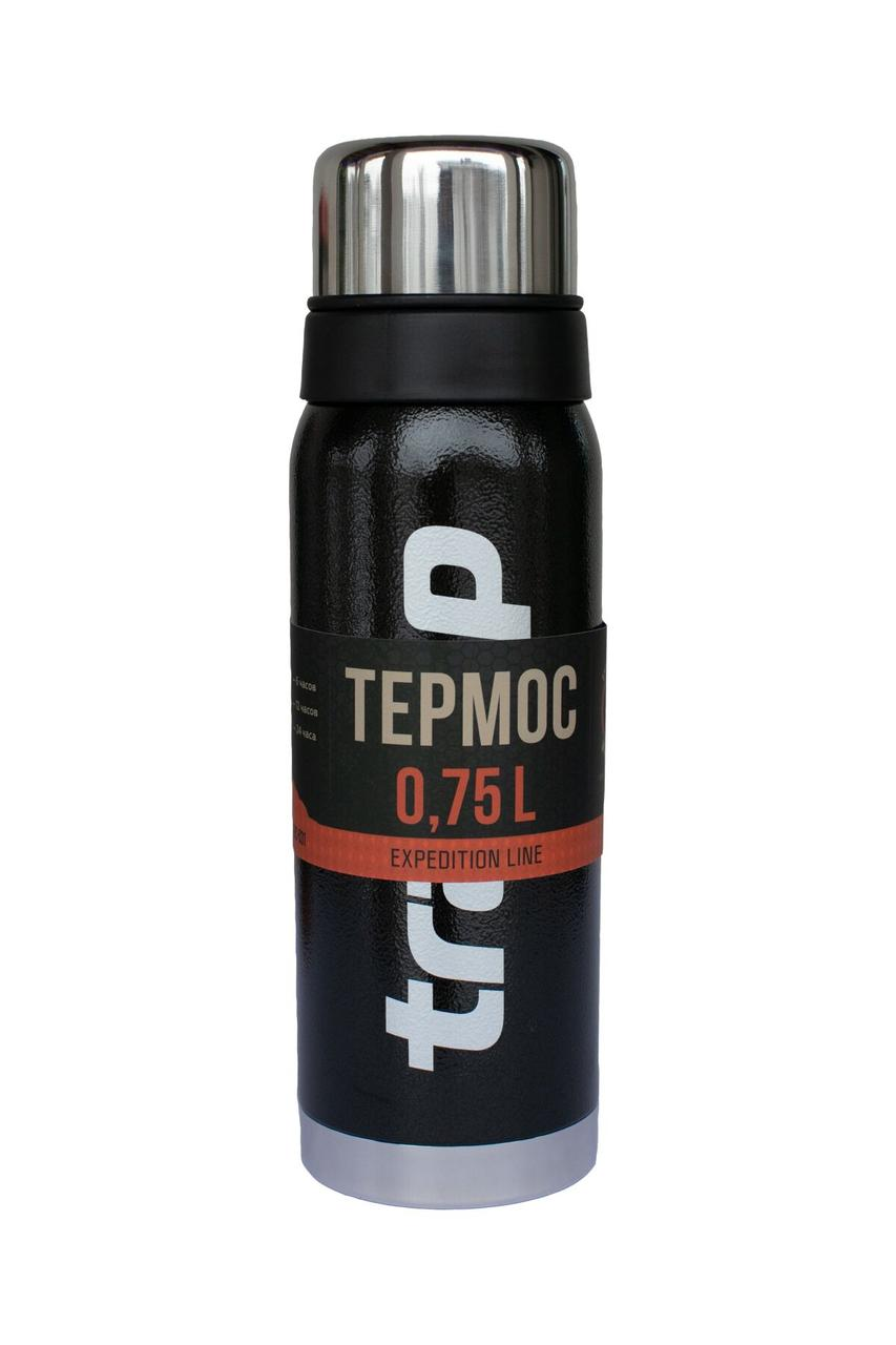 Термос Tramp Expedition Line черный 0,75 л