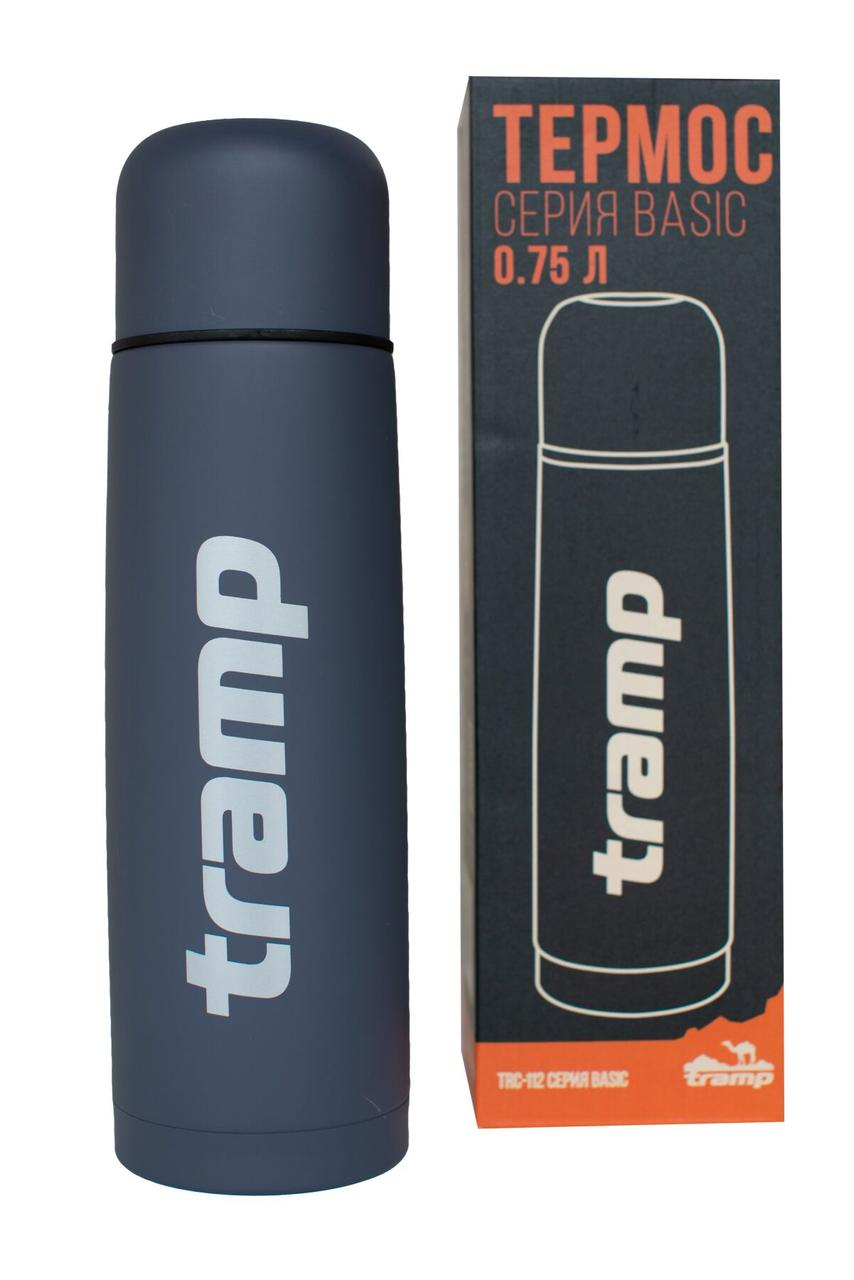 Термос Tramp Basic сірий 0,75 л