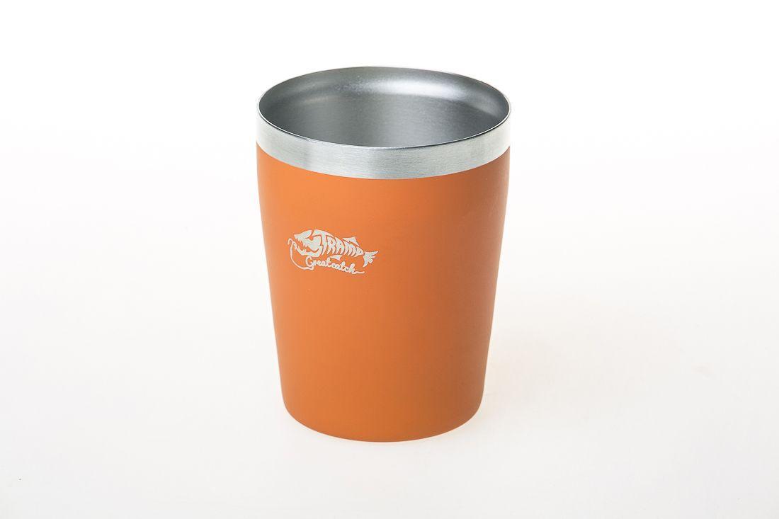 Термочашку металевий Tramp (250мл) помаранчевий TRC-101