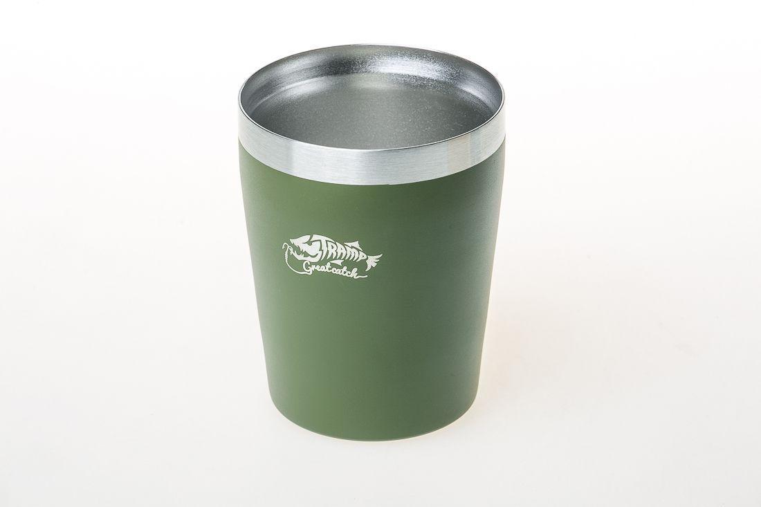 Термостакан металлический Tramp (250мл) оливковый TRC-101