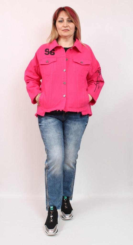 Турецкий летний женский жакет больших размеров 50-64