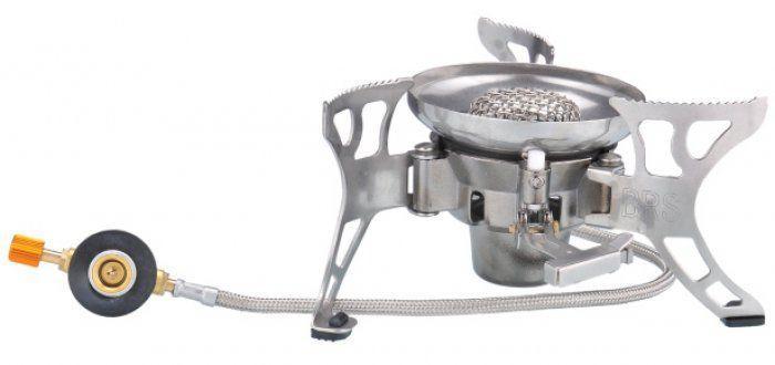 Пальник газовий з п'єзопідпалом, зі шлангом і підігрівом Tramp TRG-012