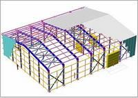 Проектування, розрахунок металоконструкцій.