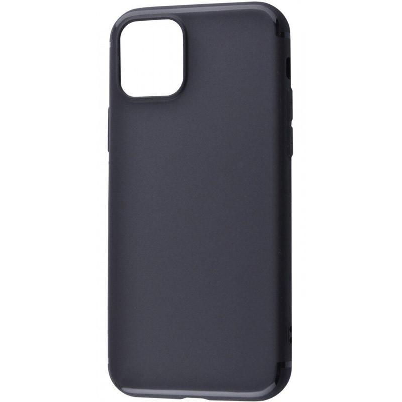 """TPU чехол Black Matt 0.5mm для Apple iPhone 11 Pro Max (6.5"""")"""