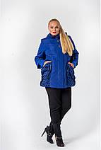 Демисезонная модель куртки  размеры 56, 58, 60 горчица, фото 3