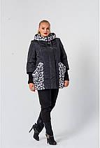 Демисезонная модель куртки  размеры 56, 58 ,60  горчица, фото 2