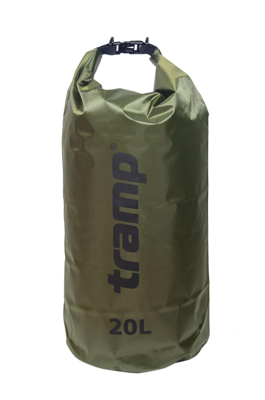 Гермомешок Tramp PVC Diamond Rip-Stop оливковий 20л