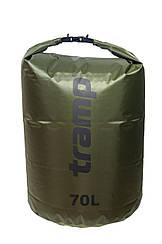 Гермомешок Tramp PVC Diamond Rip-Stop оливковий 70л