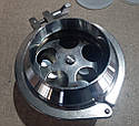 Клапан обратный нержавеющий ду 80 (сварка - сварка), фото 2
