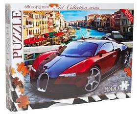 Класичний пазл 1000 елементів (7 серія) Danko toys Bugatti Veyron