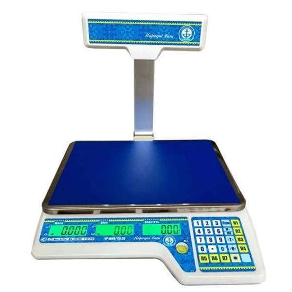 Весы торговые Вагар VP-M (15 кг)
