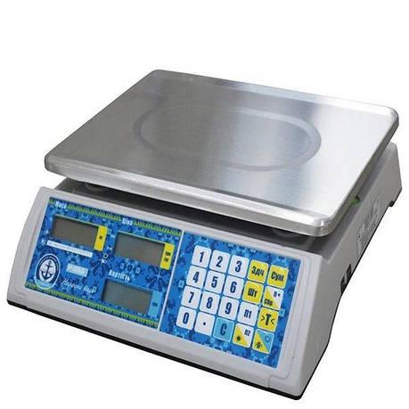 Весы торговые Вагар VP-LN (30 кг), фото 2