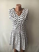 Платье женское горошек размеры S,L