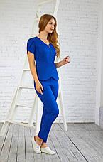 Женская медицинская куртка топ Жасмин - Жіноча медична куртка топ Жасмін - Одежда косметолога, фото 2