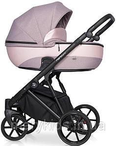Детская универсальная коляска 2 в 1 Riko Nano Pro 03 Pearl Pink
