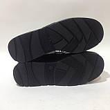 37 р. Жіночі шкіряні черевики зі шнурками на платформі Остання пара, фото 8