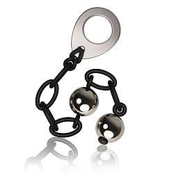 Вагінальні кульки Off Rocks Love in Chains, діаметр 2,5 см, вага 140гр
