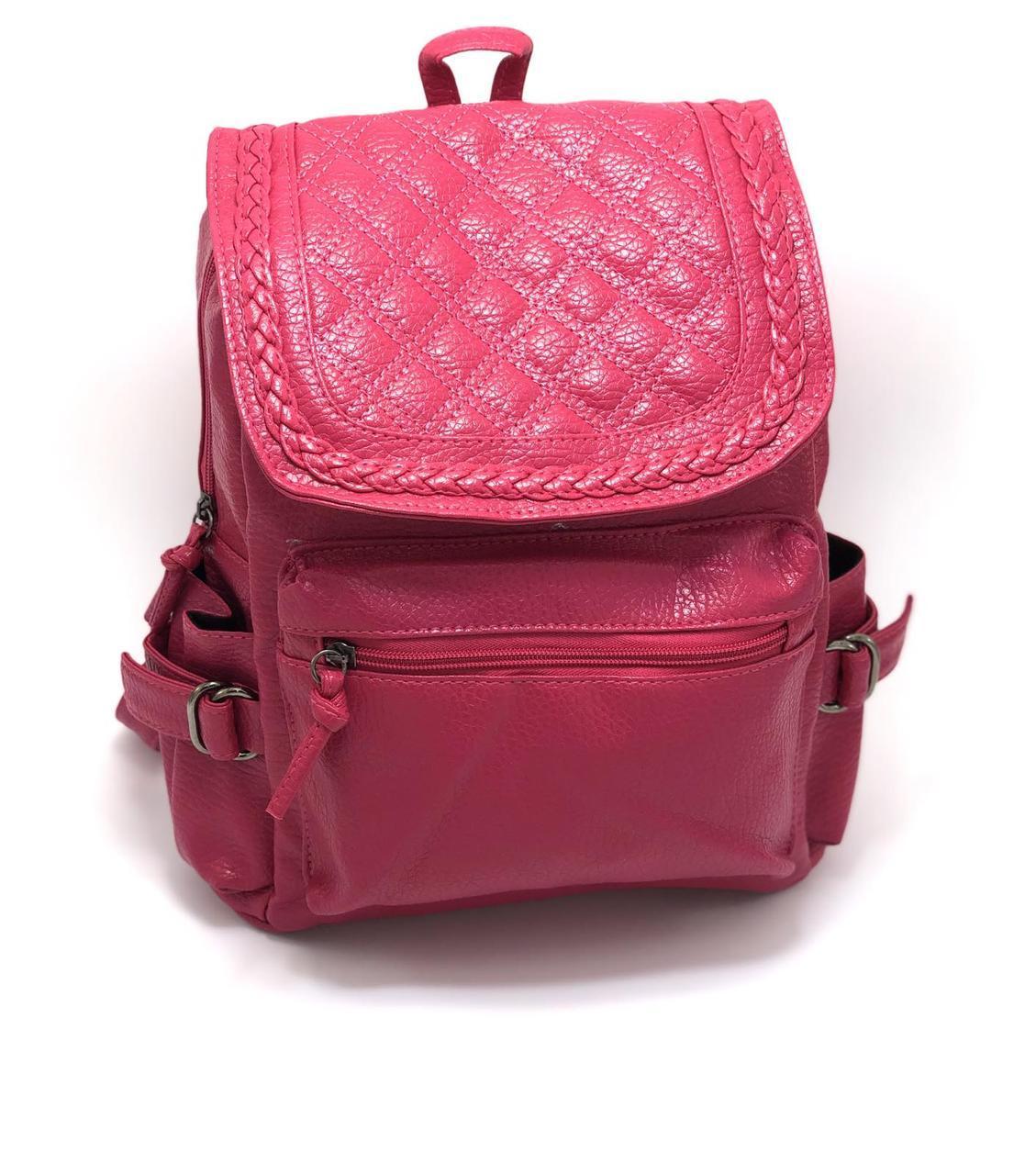 Рюкзак женский из кожзама Kaila Weaving