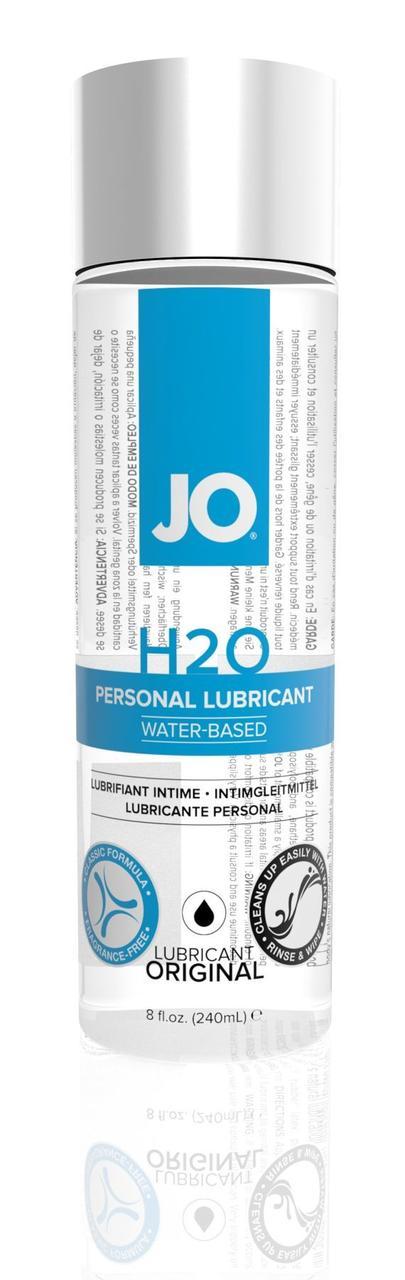 Смазка на водной основе System JO H2O ORIGINAL (240 мл) маслянистая и гладкая, растительный глицерин