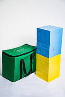 Игра JENGA MEGA - GIANT Цветная от Holiday брус размером 24*8*4. (Доставка Бесплатно)