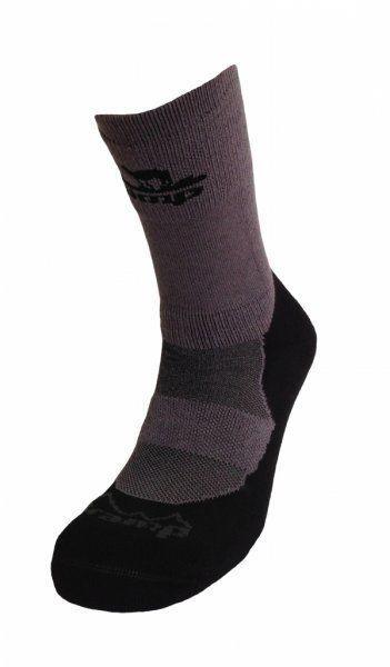 Носки Tramp Outdoor Bamboo Тёмн.Серый/черный 35-37