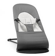 BABYBJORN Кресло-шезлонг Balance Soft, COTTON/JERSEY, цвет серый, фото 1