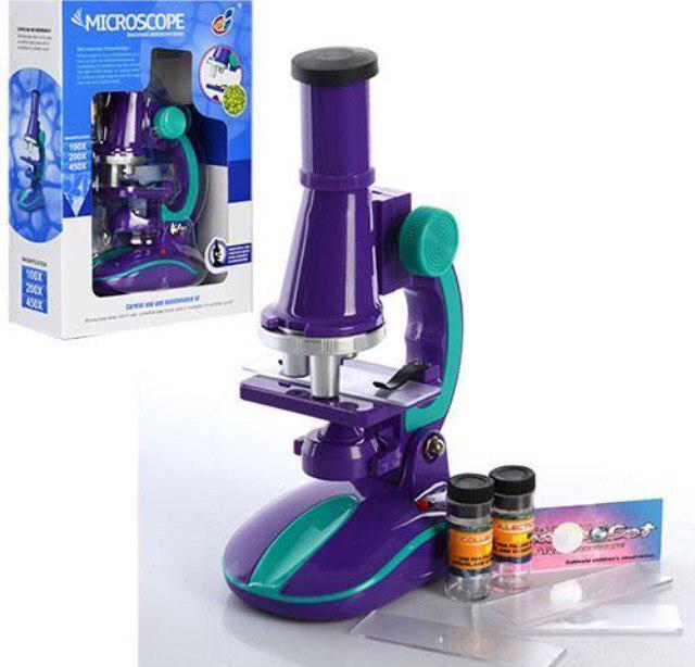 Микроскоп юный профессор игровой набор