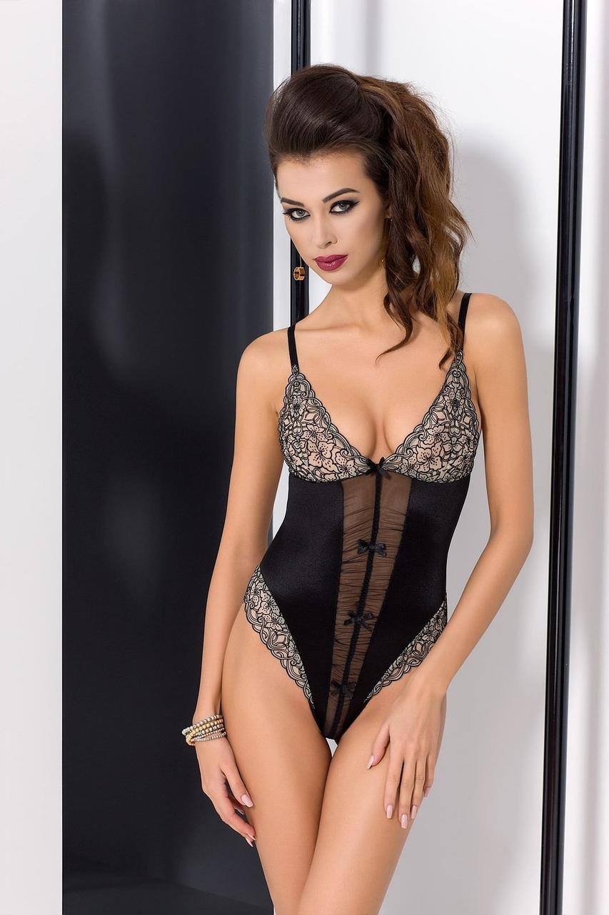 Боди MONTANA BODY black XXL/XXXL - Passion Exclusive