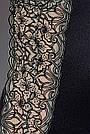 Сорочка приталенная с чашечками MONTANA CHEMISE black L/XL - Passion Exclusive, трусики, фото 3
