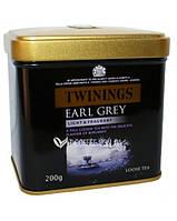 Чай Twinings Earl Grey Light & Fragrant ж/б 200 г Англия