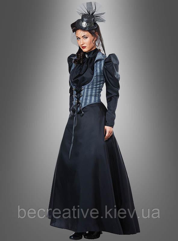 Женский карнавальный костюм Лиззи Борден (викторианский стиль)