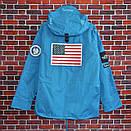 Куртка Supreme x The North Face Gore-Tex Blue, фото 2