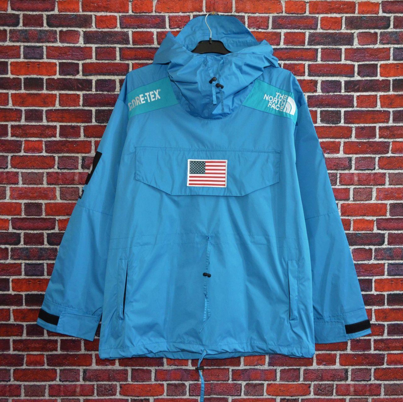 Куртка Supreme x The North Face Gore-Tex Blue