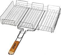 Решетка для гриля и барбекю 40.25.5см P PLUS ART 1895