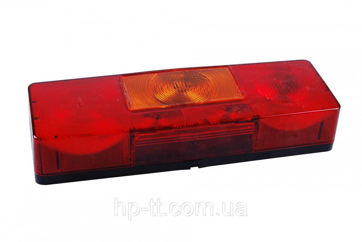 Четырехкамерный фонарь левый, с подсветкой номера Jokon 10081