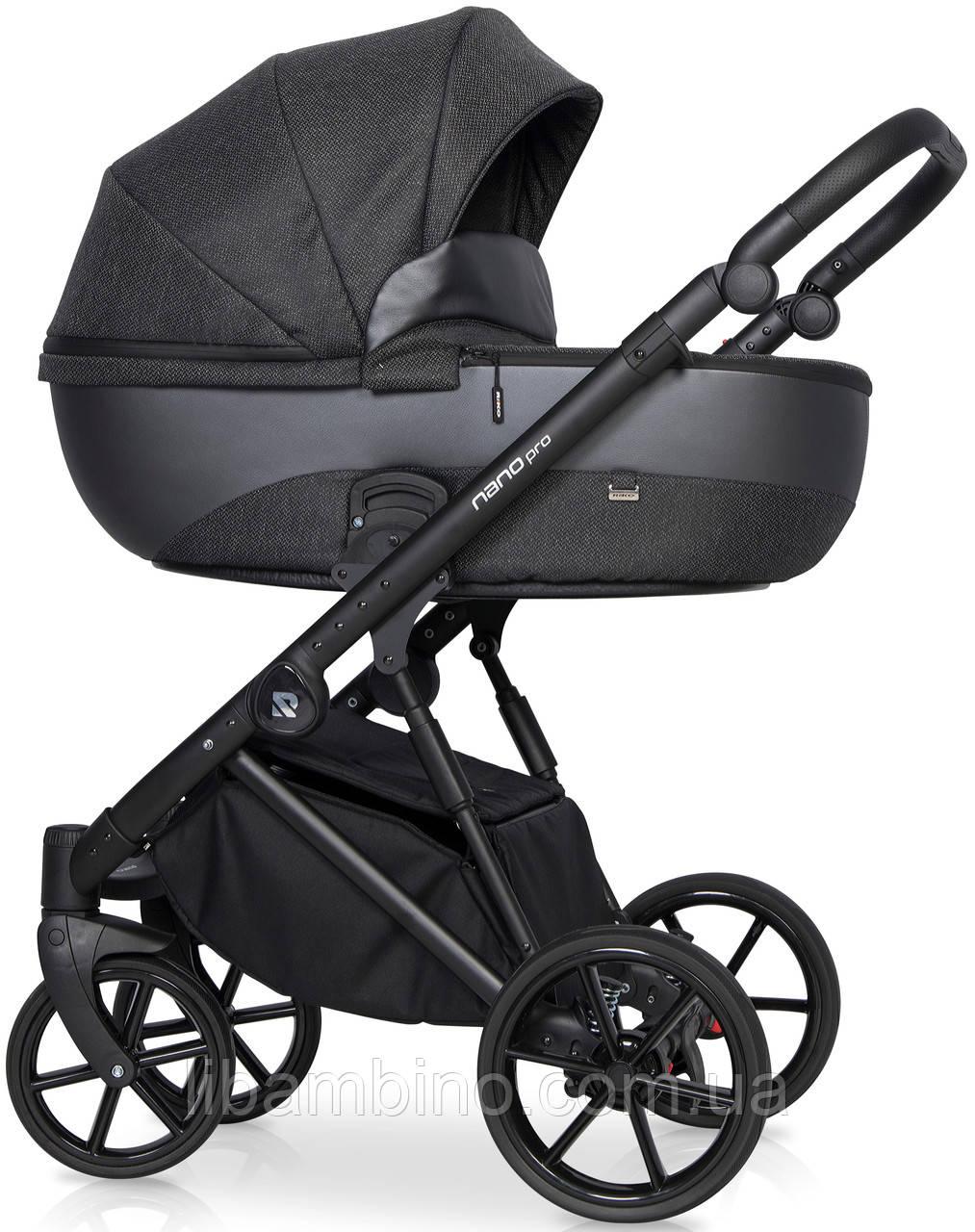 Дитяча універсальна коляска 2 в 1 Riko Nano Pro 06 Carbon