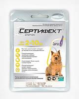 Сертифект Спот-Он2-10кг.собак (Certifect Spot-on) - новый препарат для защиты собак от клещей
