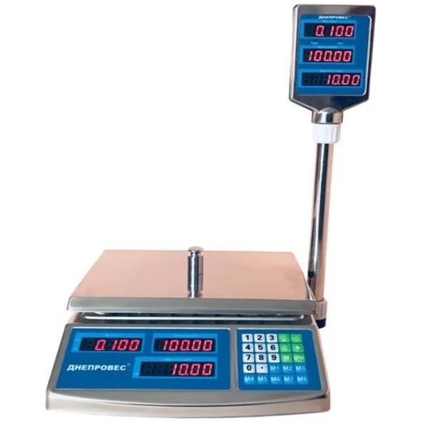 Весы торговые Днепровес F902H-6EDS (6 кг)
